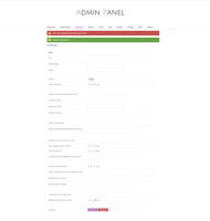 Forum Admin Panel design by NibuTv