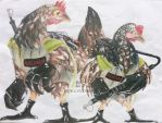 Ghostbusters-Chicken Style by Lantasia