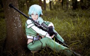 Sword-art-online-2-shinon-cosplay-by Bioneer by BioneerEnterprises