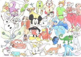 Disney by sweeu