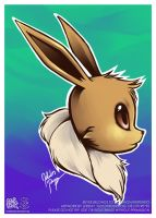 Eevee by goldhedgehog