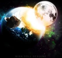Space Explosion by MDollDesigns