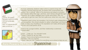 Palestine Profile by Reaper-Lawliet
