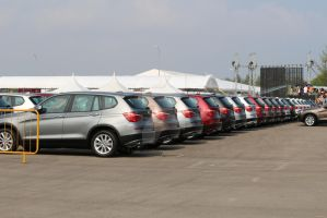 Singapore Airshow 2014 - VIP cars by yumithespotter