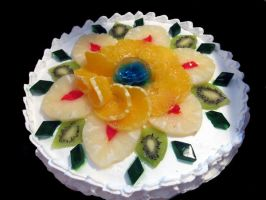 Fruit and jello decor by monarte
