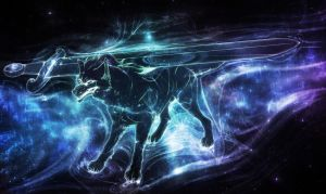 Black Hole Wolf by T0xicEye