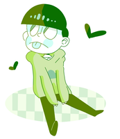 colours are getting easier but choromatsu is proba by peazut
