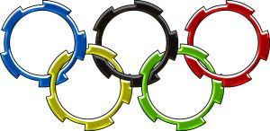 Olympic Rings by Lunatron