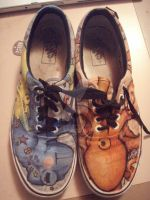 Vans Custom Shoes-The First by Bemused-Hara