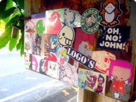 Combo Sticker Way to Antuco by Lorfis-Aniu
