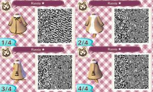Animal Crossing NL-Hetalia QR Codes- Russia by hearts2love16