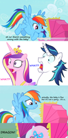 congrats Shining Armor, ur NOT the father by Titanium-dats-me