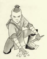 Sokka- Avatar by darkknights35