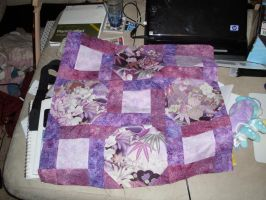 Mira's Quilt - Partial Piecing by setralynn