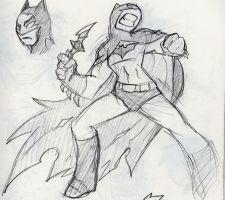 more batman action by Ruxikah