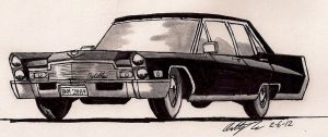 1968 Cadillac DeVille sedan by newyorkx3