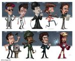The Evolution of Robert Downey Jr by JeffVictor