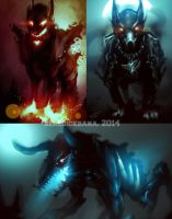 Compilations Demon Dogs by benedickbana