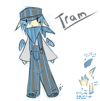 Tram, revamped by Kitedge