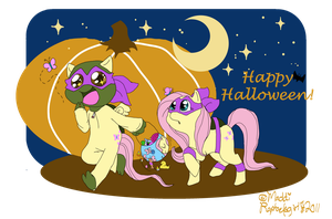 Halloween2011-Turtles'n'Ponies by Raphaelsgirl