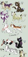Canines and Felines adopt 1{{OPEN}} by Adrianne-Adopts