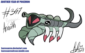 Another year of pokemon: #347 Anorith