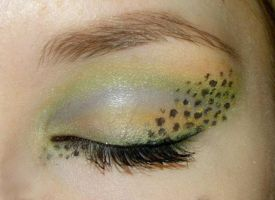 Gecko Inspired Make up 2 by Klaudia88