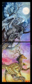 Tree of Life-Winter 'n Autumn by Quinneys