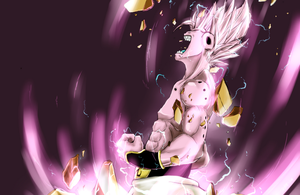 ssj majin buu by pyropete03