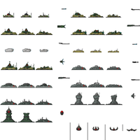 Enemy AAA Sprite sheet by PrinzEugn