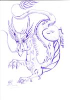 chinese dragon by lindaatje