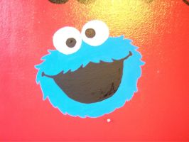 COOKIE MONSTER by BAZZ1392