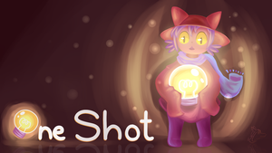 Niko Oneshot Wallpaper by Steve-the-Lucario