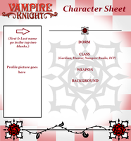Vampire Knight Character Sheet (BLANK) by Midnyte-Wolff