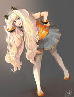 Seeu Korean Vocaloid ^^ by Doroko by Doroko-doro