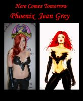 Here Comes Tomorrow Phoenix Jean Grey cosplay by marvelboy1974