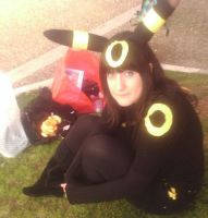 Umbreon cosplay by Rizeru-chan