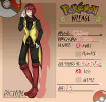 .:Pokemon Village Application:. Cider by TheLostArts