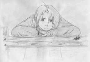 Edward Elric by Metty