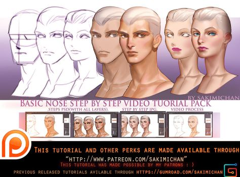 basic nose video tutorial pack .promo. by sakimichan