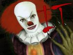 Stephen King IT- Pennywise by Alex-Willow