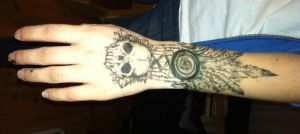 Arm art #1 by cyanide-and-sunshine