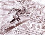 The Flash 4 pg 6 and 7 by manapul