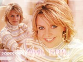 Amanda Tapping wall by Amanda-Sandford