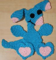 crochet blumaroo applique by crochetamommy
