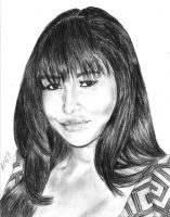 Naya Rivera by bobbleheadgirl