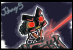 Angry Johnny 5 by PurpleRAGE9205