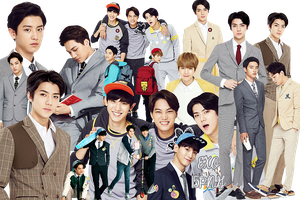 EXO PNG Pack {IVY Club 2015 Part.9} by kamjong-kai