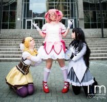 Madoka- Kill Witches, Get Bitches by SkylitEyed