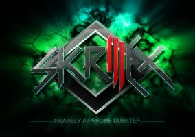 skrillex logo possible design by cytherina